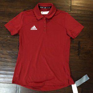 Women's Adidas Athletic Tech Polo Shirt NWT